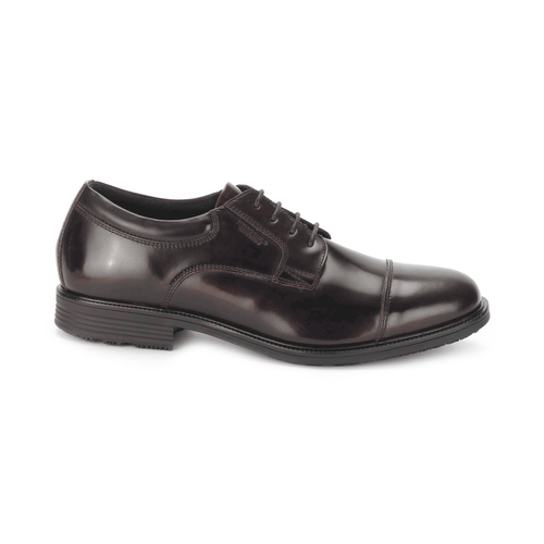 Essential Details Waterproof Captoe Men's Dress Shoes in Brown
